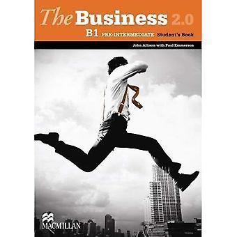 Livro nível pré-intermediário do aluno Business 2.0