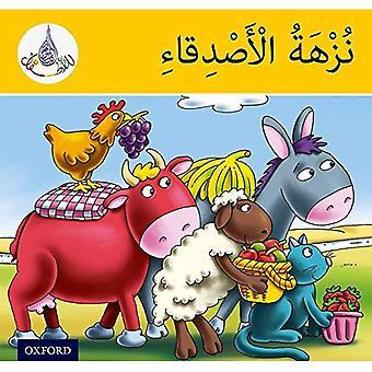 Arabiska Club läsarna: Arabiska Club läsare gul - vännernas picknick (arabiska Club för barn)