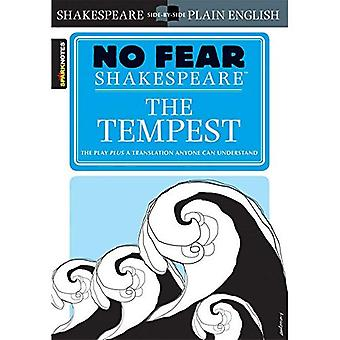 No Fear Shakespeare:  The Tempest  (Sparknotes No Fear Shakespeare):  The Tempest  (Sparknotes No Fear Shakespeare)