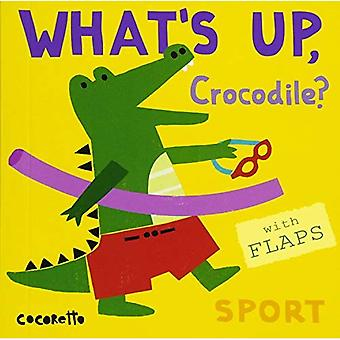 What's Up Crocodile?: Sport� (What's Up?) [Board book]