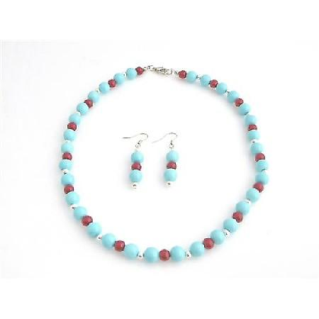 Coral Turquoise Vintage Turquoise Coral Pearls & Silver Beads Jewelry