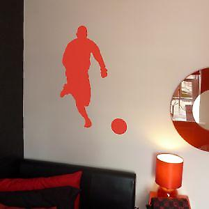 FOOTBALLER 4 WALL ART STICKER