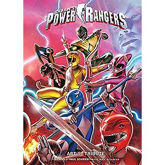 Power Rangers Artist Tribute by Jamal Campbell - 9781684151264 Book