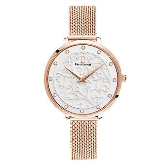Watch Pierre Lannier Eolia L 039, 908 - crystals steel Milanese Rose Gold case steel gold Rose wife