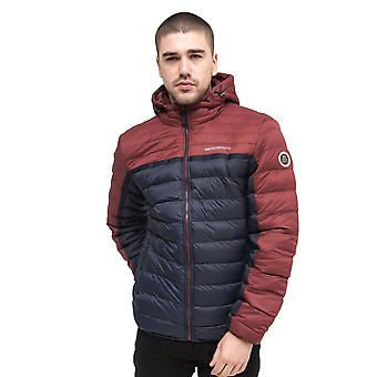Mens bubble jacket crosshatch pyffan