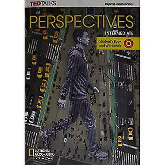 Perspectives Intermediate: Student's Book and Workbook� Split Edition B