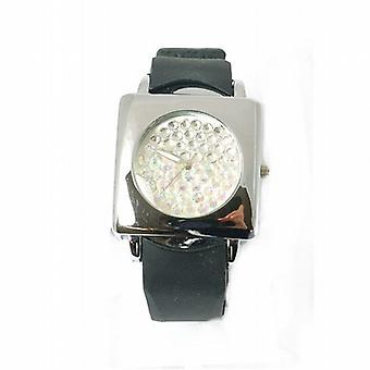 Sugarbaby Ice Dial Black Silicone Strap Ladies Fashion Watch SB016