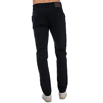 Mens Crosshatch Black Label Kelso Chino Pant In Navy