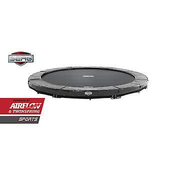 BERG InGround Elite 380 12.5ft Trampoline Sports Series Grey