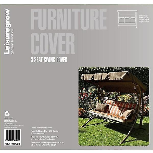 Leisuregrow 3 Seater Swing Seat Weather Cover