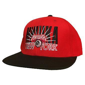 Mishka Dynasty Snapback Cap Red