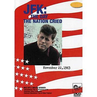 JFK-Day a nação chorou [DVD] importação EUA