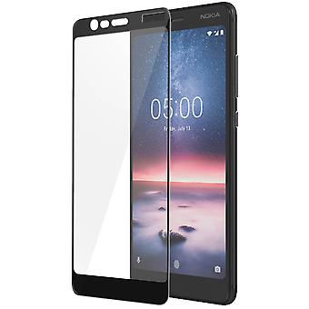Bigben Nokia 5.1 Curved Glass Screen Protector 9H Curved Film - Black