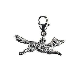 Silver 8x23mm running Fox Charm with a lobster catch