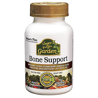 Natures Plus Source of Life Garden Bone Support Vcaps with AlgaeCal, 120 Vcaps