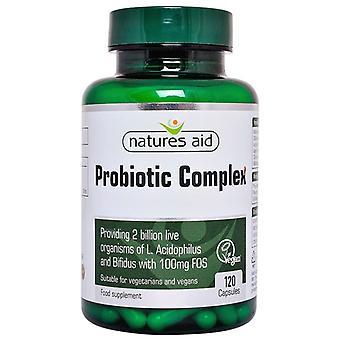 Nature's Aid Probiotic Complex (with Bifidus and FOS) Capsules 120