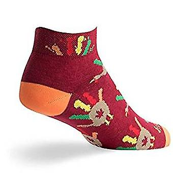 Socks - SockGuy - Holiday/Limited Edition Gobblers S/M Cycling/Running