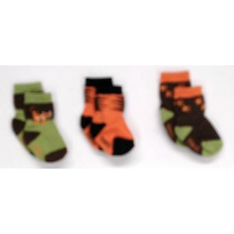 Robeez 3-Pack Baby / Toddler Multi-Color Socks