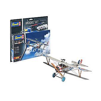 Revell 63885 Nieuport 17 model set Kit