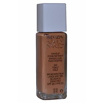 Revlon bijna naakt make-up breed Spectrum SPF20 30ml Toast (#240)