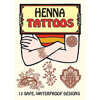 Dover Publikationen Henna-Tattoos Dov 41646