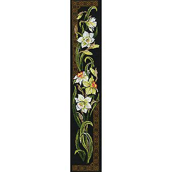 Daffodils Counted Cross Stitch Kit 7.75