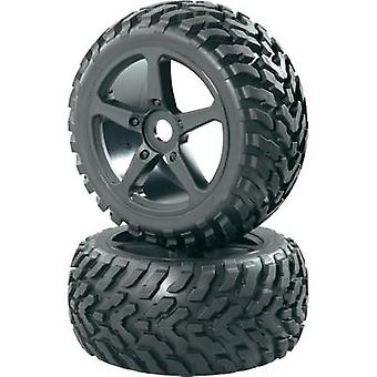 Reely 1:8 Truggy Wheels Snake 5-spoke