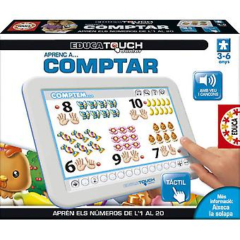 Educa Junior Touch Comptar Catala (Toys , Educative And Creative , Mathematics)