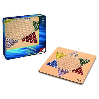 Cayro Chinese Checkers Wood Metal Box (Kids , Toys , Table games , Strategy)