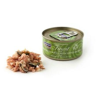 Fish4Cat Canned tuna steak with Mussels 70 Gr (Cats , Cat Food , Wet Food)