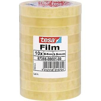 Tesa film tesa tesa® Transparent (L x W) 66 m x 15 mm