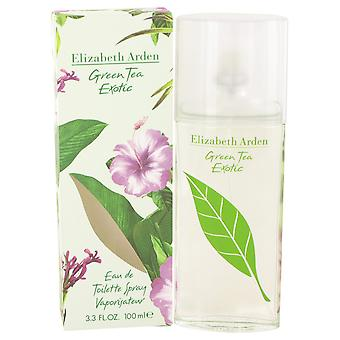 Green Tea Exotic By Elizabeth Arden Edt Spray 100ml