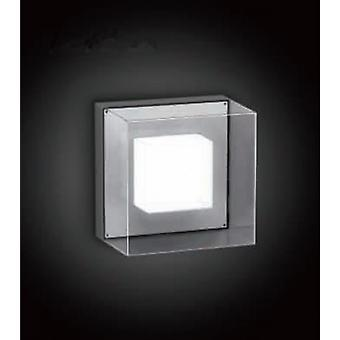 LED Wall lamp, 6 x 1 W COB LED, 3000 K, donkergrijs, Lofti LED L, 10381