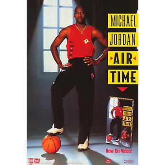 Michael Jordan Air Time Movie Poster drucken (27 x 40)