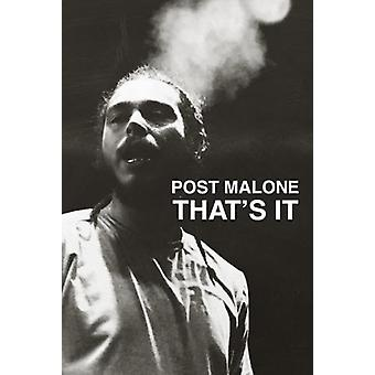 Post Malone Thats It Poster Poster Print