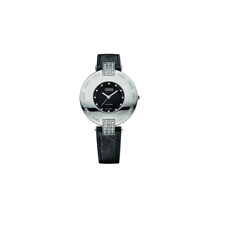 Cover ladies watch Co143. ST1LBK/SW