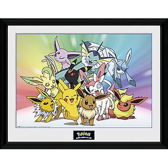 Pokemon Evoli Sammler Print