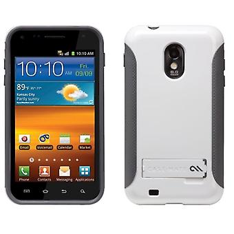 Case-Mate Pop! Case w/ Stand for Samsung Epic Touch 4G SPH-D710 - White/Gray