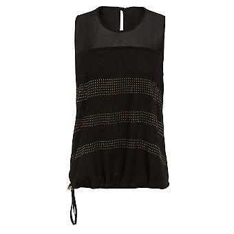 Ex Star Stud Sleeveless Blouse