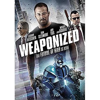 Weaponized [DVD] USA importerer
