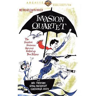 Importation de invasion USA Quartet [DVD]