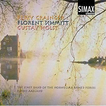 P. Grainger - Percy Grainger, Florent Schmitt, Gustav Holst [CD] USA import
