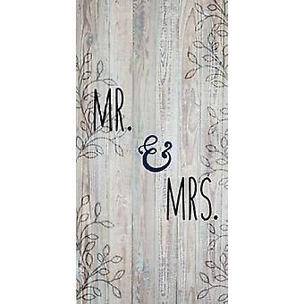 Мистер и миссис Плакат Печать Кимберли Аллен