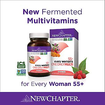 New Chapter Every Woman's One Daily 55+ Tablets 72 Ct