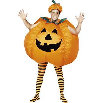 Kürbiskostüm aufblasbar Halloween Kürbis Kostüm