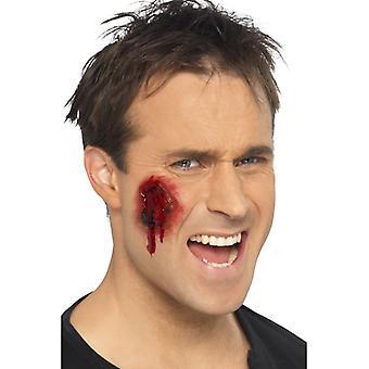 Opgerolde Halloween wonden instellen bloed 16 tools horror