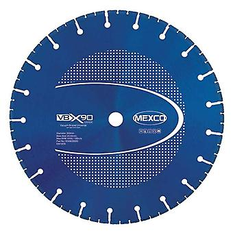 Mexco 115Mm Vacuum Brazed Diamond Blade Multi-Use X90 Grade 22.23Mm