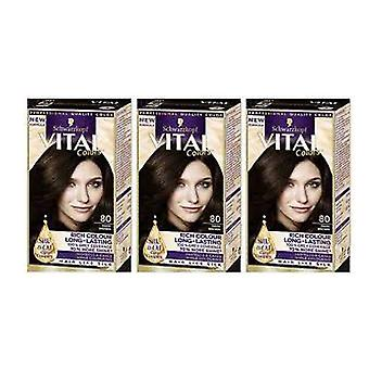Schwarzkopf X 3 Vital Colors 90 Natural Black
