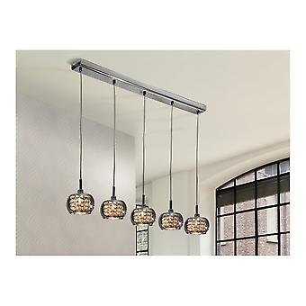 Schuller Arian 5 Glass Dome Ceiling Light