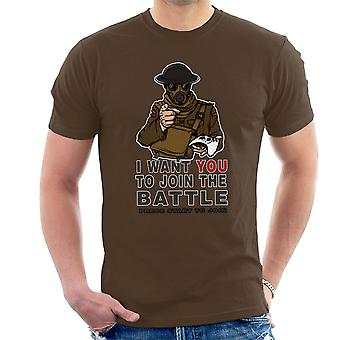 Join The Fight Men's T-Shirt
